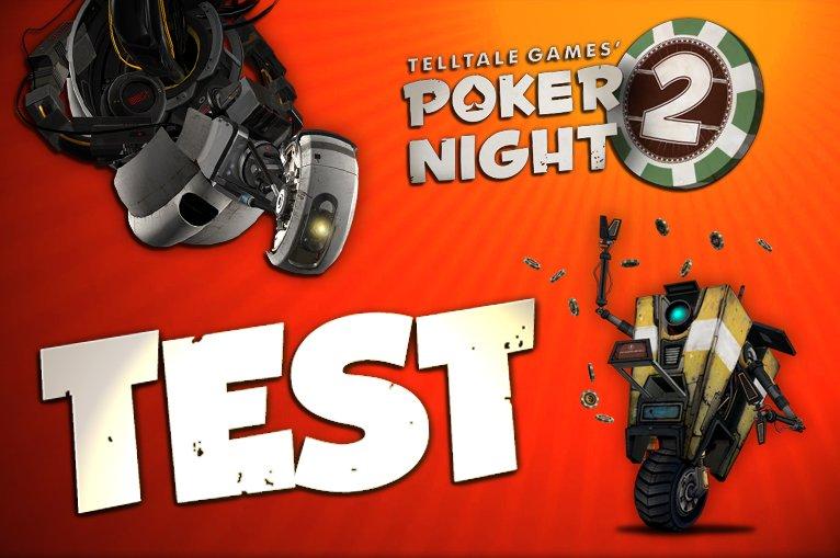 Poker Night 2 Test - GLaDOS und Claptrap gehen in eine Bar...