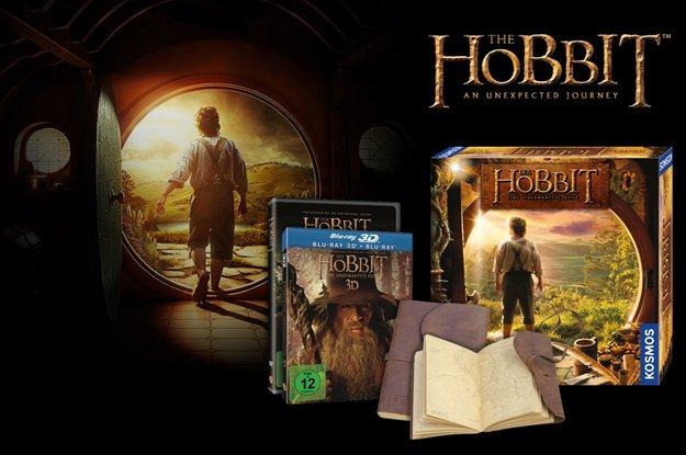 Hobbit-Gewinnspiel: Fan-Paket mit Blu-ray, DVD, Soundtrack, Brettspiel...