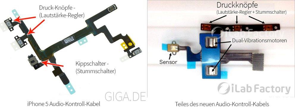 Audio-Kontroll-Flex-Kabel