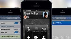 Audio Recorder: Telefonate mit dem iPhone aufzeichnen [Cydia]