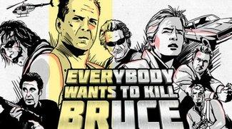 Alle jagen Bruce Willis: Halsbrecherischer Supercut mit Szenen aus Dark Knight, Terminator 2, Heat...