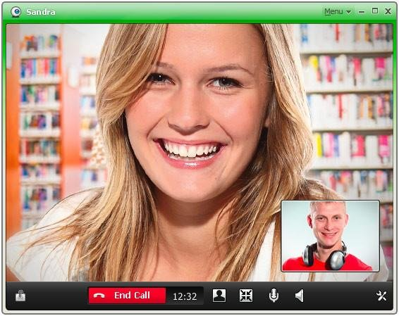 ICQ Video Screenshot