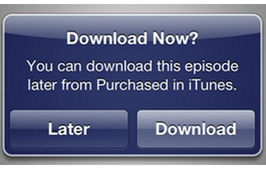 iTunes in der Cloud: Neue Option für späteren Download