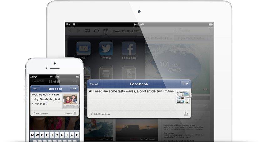 Facebook und Google wünschen sich tiefere Integration ins iOS