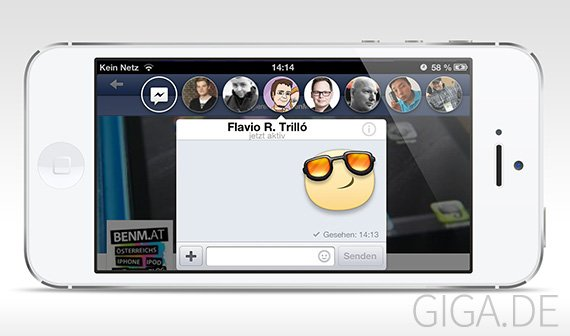 FB Unlimited Chat Heads: Chat Heads Limitierung in Facebook App aufheben [Cydia]