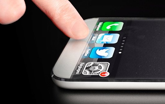 Fingerabdruck-Sensor als ein Mittel für elegante Multi-Benutzer-Unterstützung