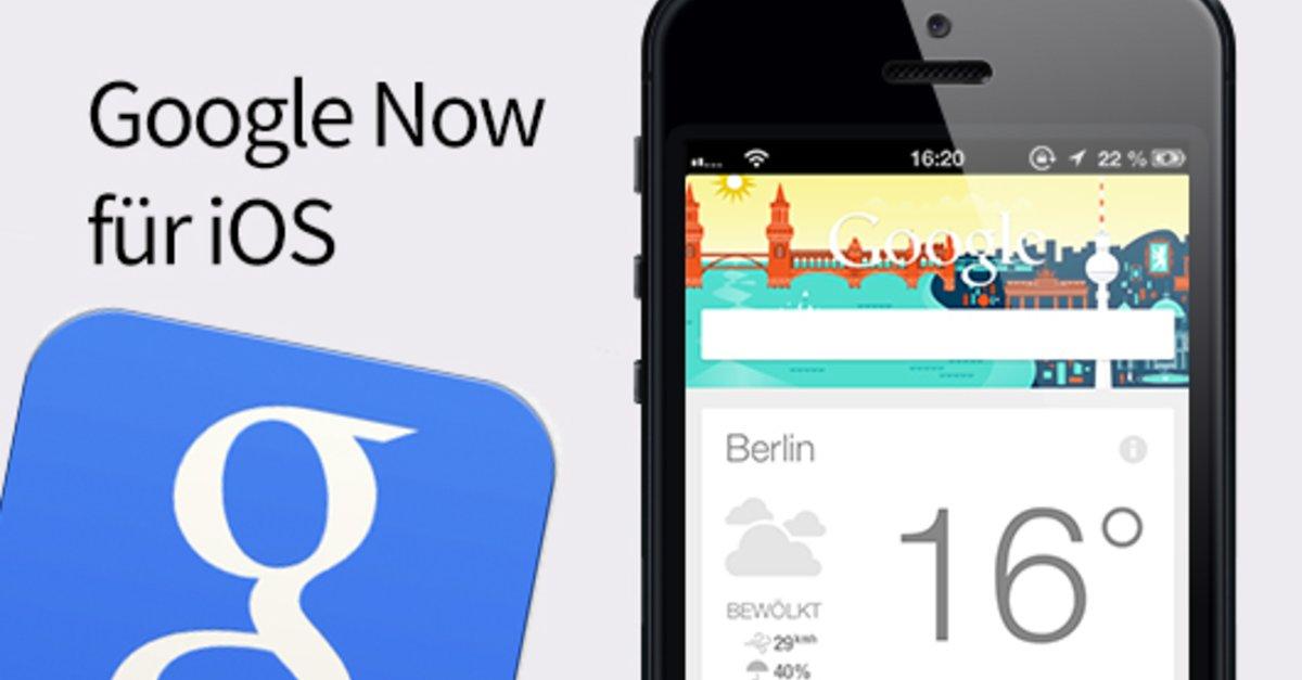 Google Now Einstellungen
