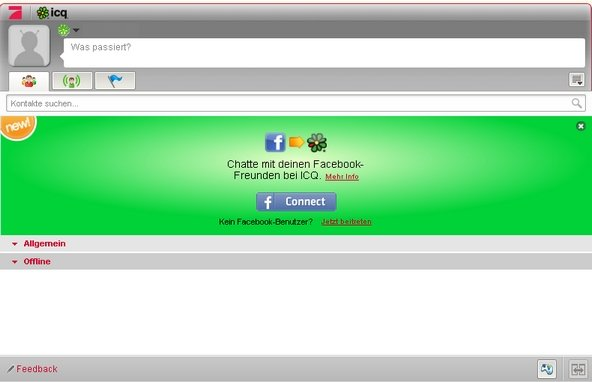 Der ICQ Chat ist durchaus auch im Browser möglich