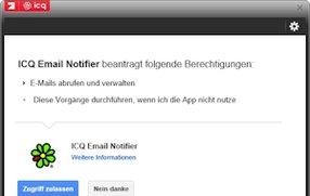 ICQ als Mail-Anbieter und die Verbindung ICQ und Google