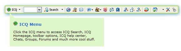 ICQ Search Toolbar