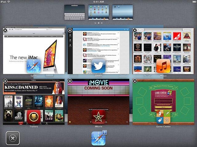 iOS 7 Konzept - Mission Control