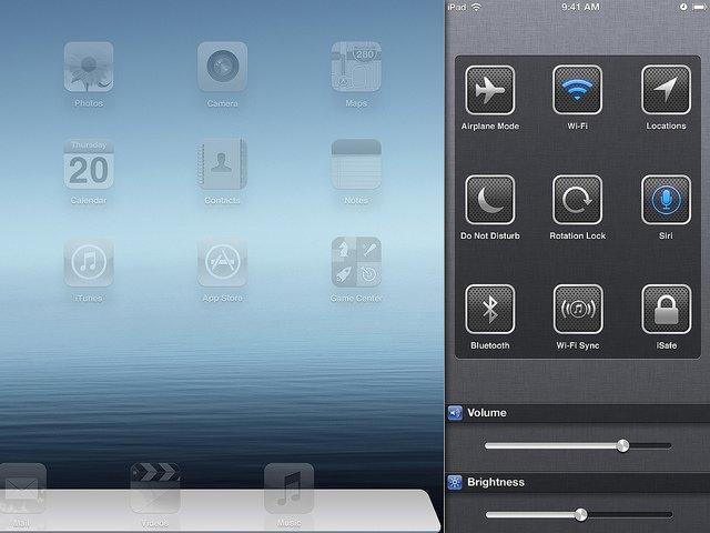 iOS 7 Konzept - Einstellungen