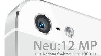 iPhone 5S: 12-Megapixel-Kamera und verbesserte Nachtaufnahme