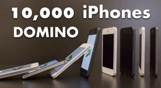 Video: Domino mit 10.000 iPhone 5