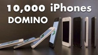 Video: Domino mit 10.000 iPhone 5