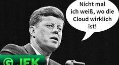 JFK: Cloud vs. Festplatte, Speicherwahn und falsche Versprechungen