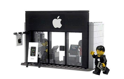 """LEGO: Offizieller """"Apple Store""""-Bausätz steht zur Wahl"""