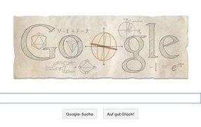 Google ehrt Leonhard Euler - so funktioniert das mathematische Doodle