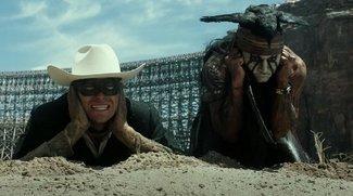 Lone Ranger: Neuer deutscher und englischer Trailer - ein großer Spaß!