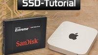 Mac mini 2012: Videoanleitung zum SSD-Einbau