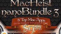 MacHeist nanoBundle 3: 8 Mac-Apps für 7,70 Euro im Bündel