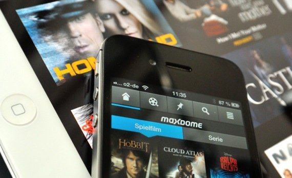 Mit Maxdome zukünftig auch offline Filme und Serien anschauen