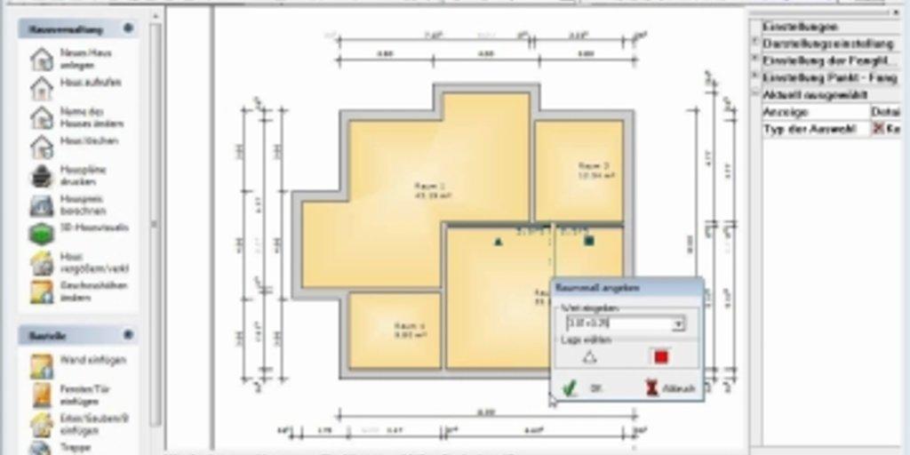 software fr hausplanung die der hausplaner software with. Black Bedroom Furniture Sets. Home Design Ideas