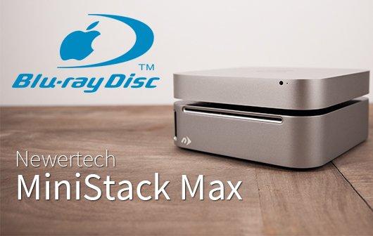Newer Technology miniStack Max im Test: Blu-ray-Power für den Mac