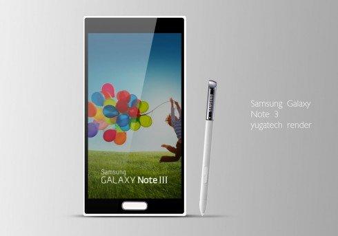 Samsung Galaxy Note 3 Konzept