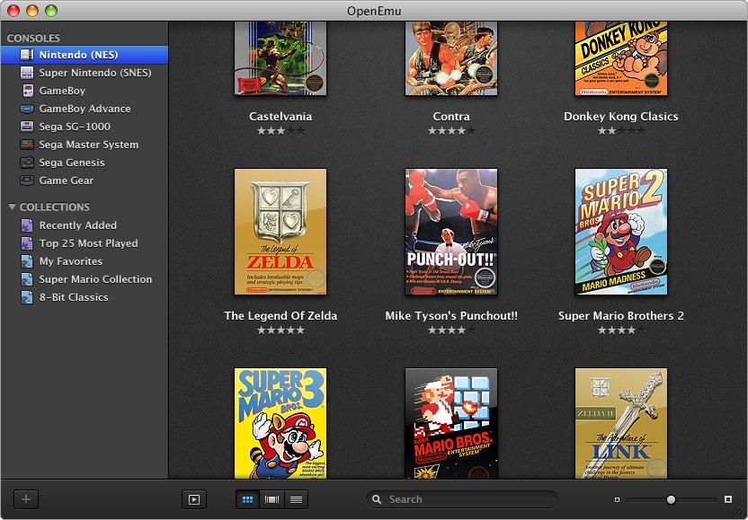 OpenEmu: Emulator für zahlreiche Spielekonsolen speziell für den Mac