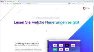 Opera-Update – manuell und automatisch