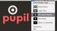Pupil: Auflösung beim MacBook Pro Retina schnell anpassen