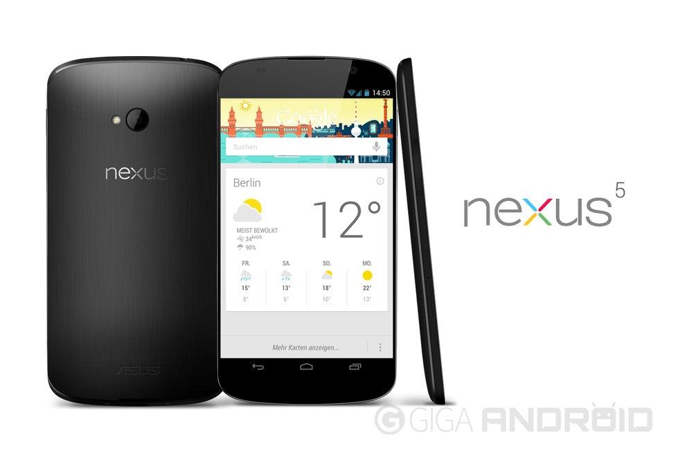 Nexus 5 Konzept - So und nicht anders!
