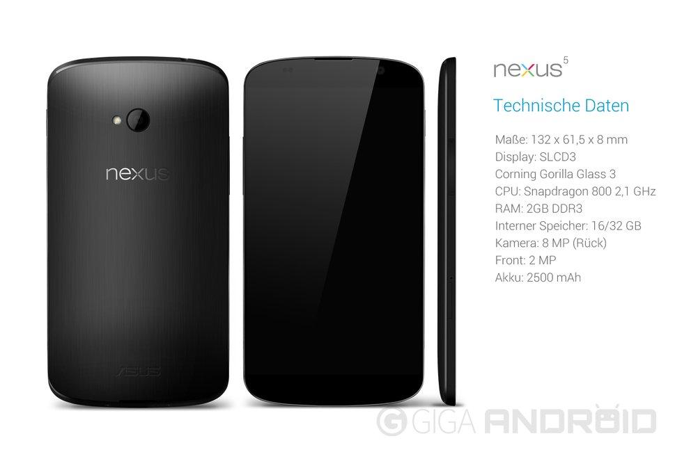 Nexus 5 Spezifikationen