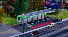 SimCity: Kostenloser DLC bringt die Nissan Leaf Ladestation