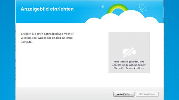 Skype Profilbild ändern