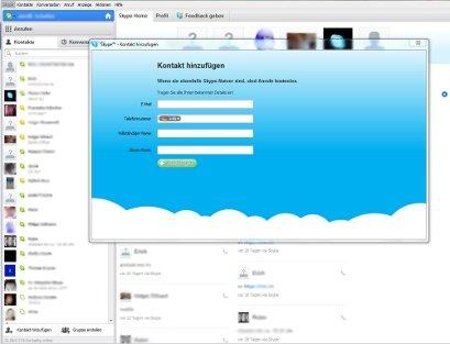 Bei Skype anmelden - ganz einfach