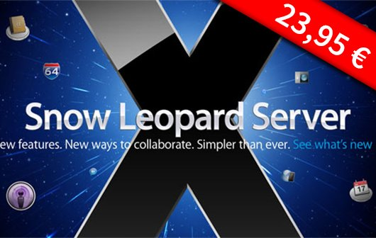 Snow Leopard Server für 24 Euro bei Apple bestellen
