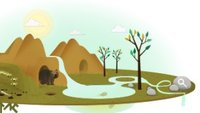 Google feiert den Tag der Erde 2013: So funktioniert das Natur-Doodle