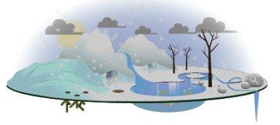 Tag der Erde: Schnee