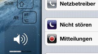 """Tipps für iOS und OS X: """"Nicht stören"""" mit Ausnahmen und feinere Lautstärkeregler"""
