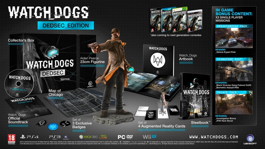 watch_dogs collectors edition-1