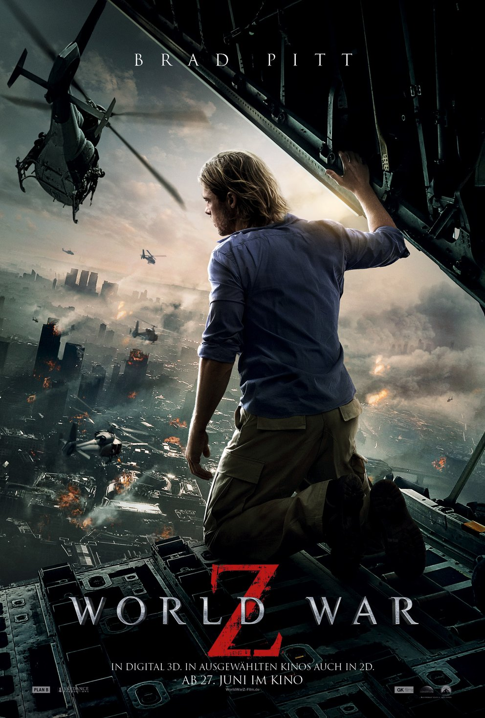 World War Z: Deutsches Poster