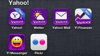 Yahoo! Apps für iOS: Updates für Wetter, Mail und Yahoo! für iOS