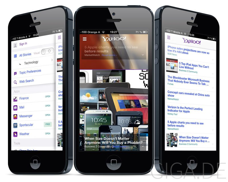 Yahoo! for iOS