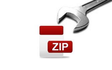 Zip-Datei Schraubenschlüssel
