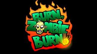 Burn Zombie Burn: Lustiges Untoten-Gemetzel für Android