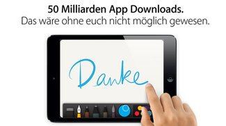 Apples App Store erreicht 50 Milliarden Downloads