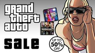GTA Sale im PSN: Bis zu 50% Rabatt