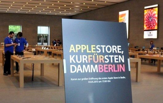 Apple Store Berlin Kurfürstendamm: Wir waren drin (Bilderserie)